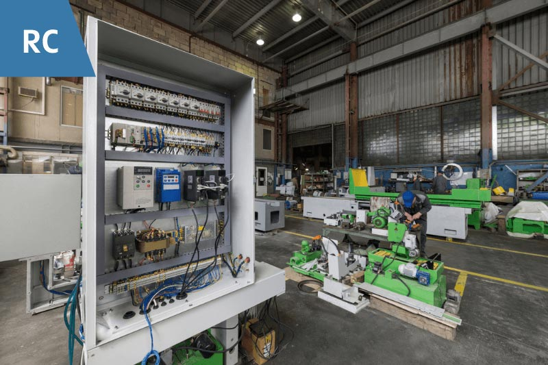 Hearth Products Controls in warehouse